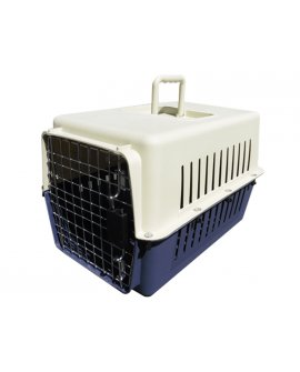 Airline Approved Cat Pet Cage - Large Blue