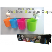 Suction Storage - 4 Hanging Cups