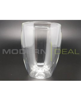 Double Walled Glasses 4pc