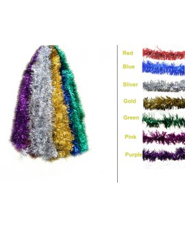 Tinsels Long Bristle 10m - Silver