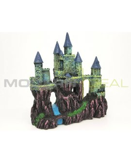 Fish Tank Ornament - Castle LARGE