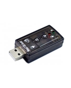 USB 2.0 to 3D 7.1 Audio Sound Card