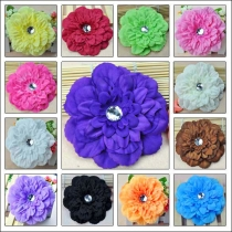 Flower Hair Clips  - 13 Pieces