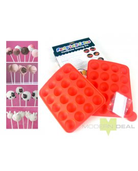 Cake Pop Silicon Baking Tray