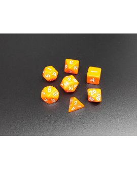 Polyhedral Dice Set ORANGE