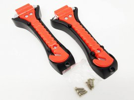 EMERGENCY SAFETY HAMMER - TWO PACK