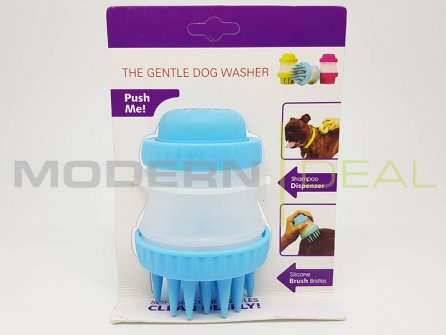 Dog Brush Silicone Scrubber