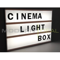 Night Light Cinema Lightbox