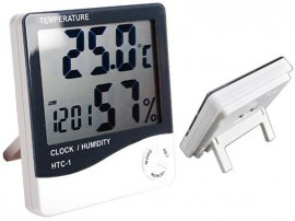 Indoor Clock/Thermometer/Humidity Station