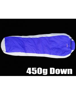 Duck Down Sleeping Bag 450g - Blue
