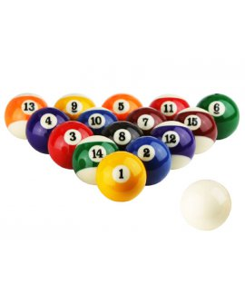 "Pool Billiard Ball Set (2-1/4"")"