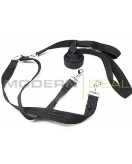 Dual Dog Leash BLACK