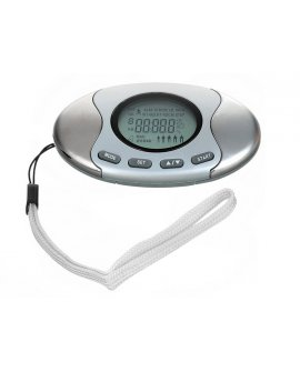 2 in 1 LCD Digital Pedometer Fat Calorie Counter
