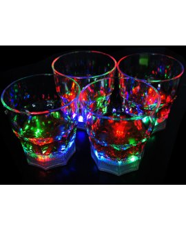 LED Drinking Cups Set of 4 - Small