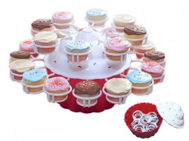 Cupcake Holder - Holds up to 24 pieces