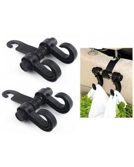 Headrest Bag Holder - Twin Hook 2pcs