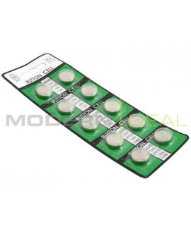 10x AG10 LR54 389 LR1130 SR1130 Button Battery