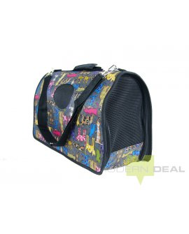 Pet Carry Bag - Cartoon Cats