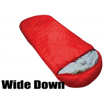Duck Down Sleeping Bag XL 1800g - Red