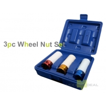 Wheel Nut Sockets - 3pcs