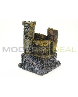 Fish Tank Ornament - Castle SMALL RUIN