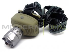 Head Torch - CREE with ZOOM