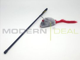 Teaser Wand Cat Toy with Noise