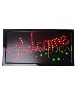 "LED Sign ""WELCOME"""