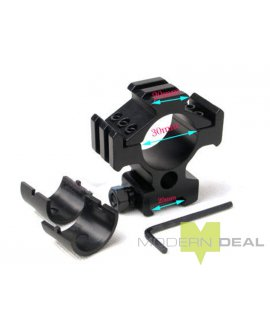 Tri Side Ring Mount - Rail Mount