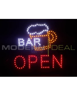 "LED Sign ""BAR OPEN"""