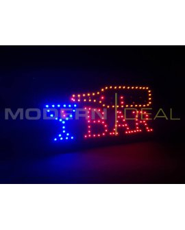 "LED Sign ""BAR"""