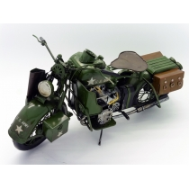 US Army Bike Model Ornament