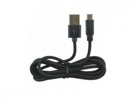 Micro USB Charging Cable 1.5m - BLACK