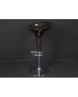 Low Back Stools Pair - BLACK