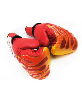 Boxing Gloves 10oz - RED FLAME