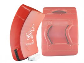 Curved Boxing Blocker - XXL Red