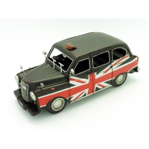 Black Cab Taxi Model Ornament