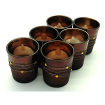 Candle Cup Set - 6pcs