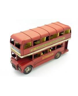 Double Decker Bus Model Ornament