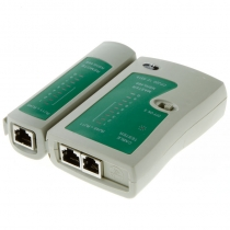 Network Cable Tester RJ45 RJ11 Cat-5 Cat-6