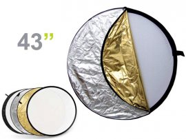 5 In 1 Collapsible Disc Reflector - 43""