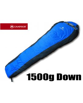 Duck Down Sleeping Bag 1500g - Blue