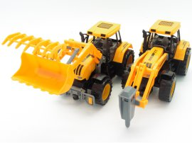 Tractor Set A - Bucket & Drill
