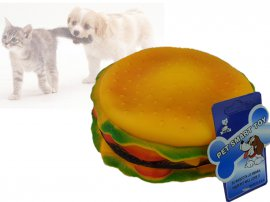 Pet Chew Toy - Hamburger