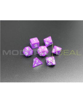Polyhedral Dice Set PURPLE