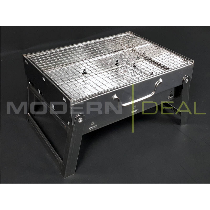 Portable Folding Charcoal BBQ Grill