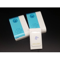 Wireless Doorbell With Remote Control - Dual Bells
