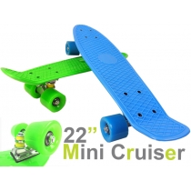 Mini Retro Skateboard - GREEN