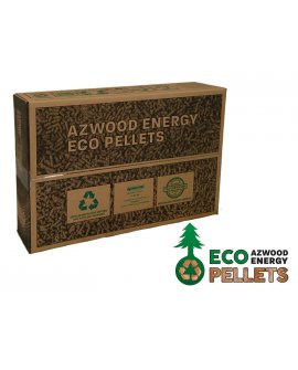 Wood Pellet Fuel  - 15Kg ECO BOX