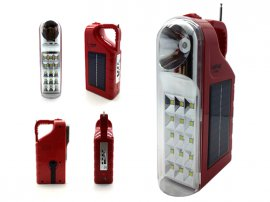Emergency Solar Radio Music Player Torch Lantern